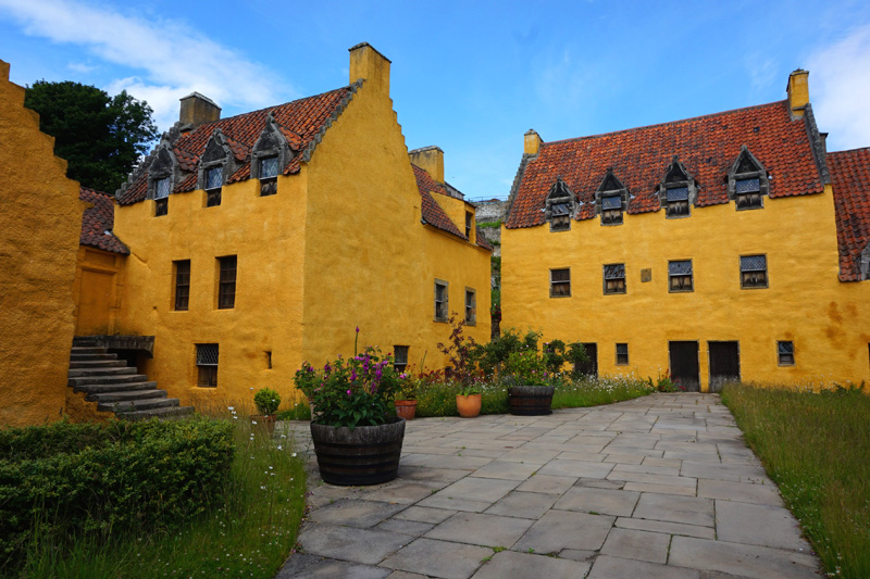 Culross Palace, Fife, Scotland