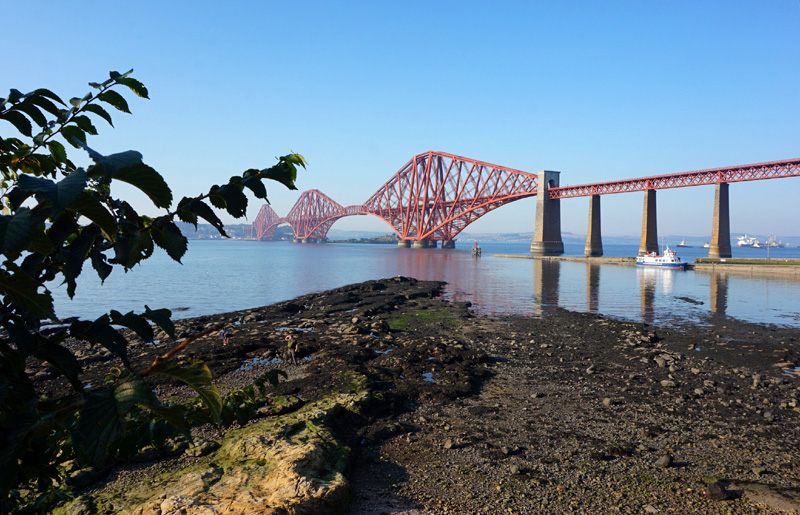 Forth Rail Bridge, South Queensferry Edinburgh