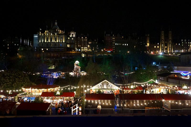 Edinburgh Christmas market, Scotland