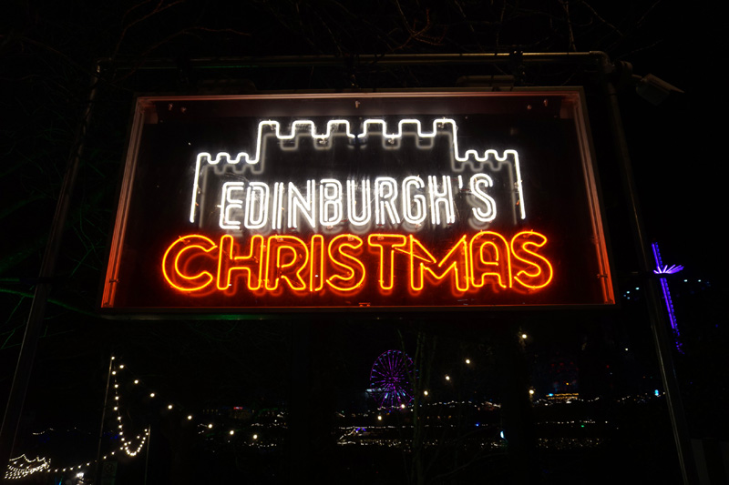 Edinburgh's Christmas market, Scotland