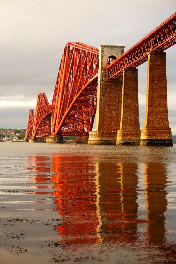 Forth Rail Bridge, South Queensferry Edinburgh