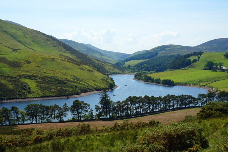 Glencorse reservoir, Pentlands, Scotland