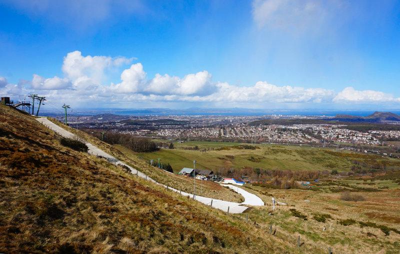 Capital View hill walk, Pentlands, Edinburgh