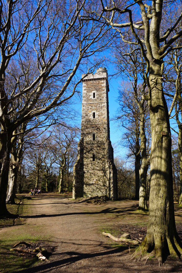 Corstorphine Tower, Corstorphine Hill, Edinburgh, Scotland