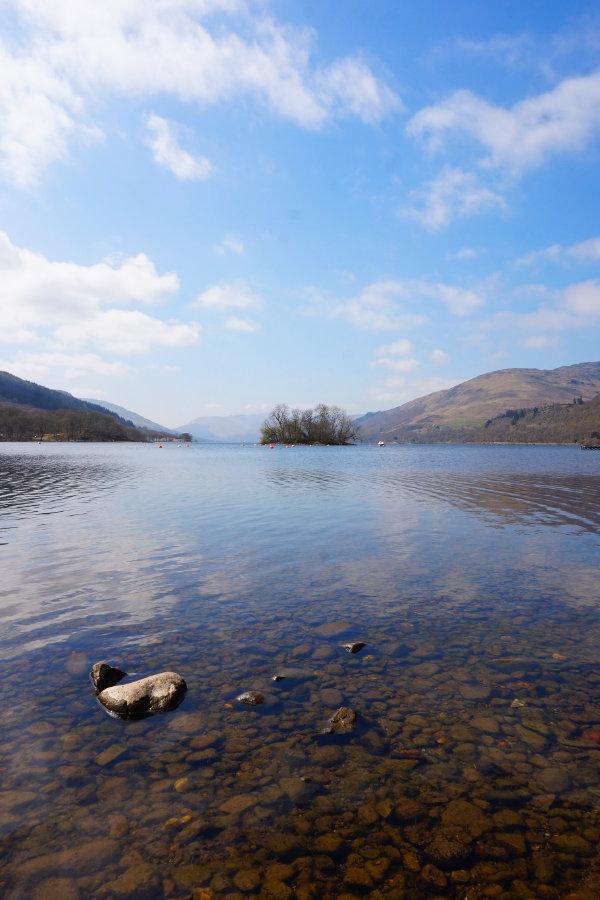 Loch Earn, Trossachs, Scotland