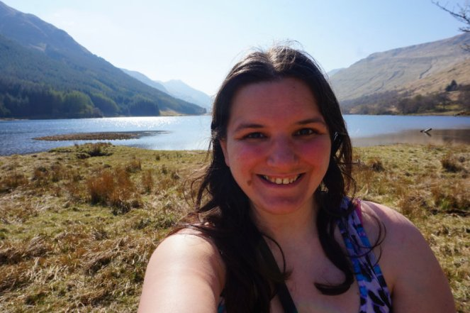 Me at Loch Doine, Trossachs, Scotland
