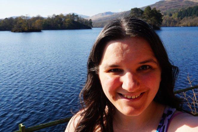 Me at Loch Katrine, Trossachs, Scotland