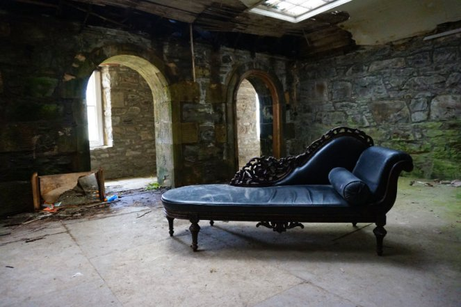 Coco Chanel mansion, Rosehall house, Scotland