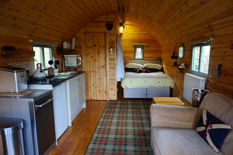 Suilven View pod, Assynt, Scotland
