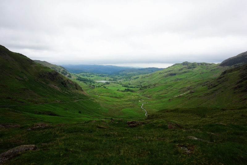 Wrynose Pass, Lake District, England