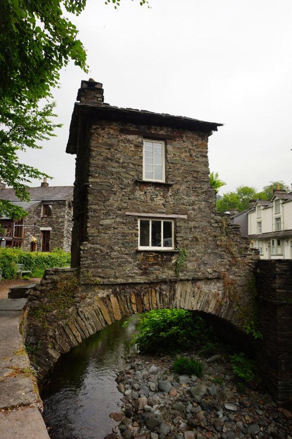 Bridge house, Ambleside, Lake District, England