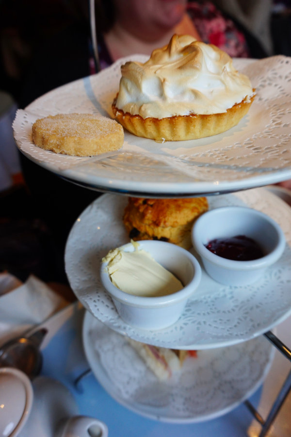 Afternoon Tea at the Willow Tea Rooms, Glasgow, Scotland