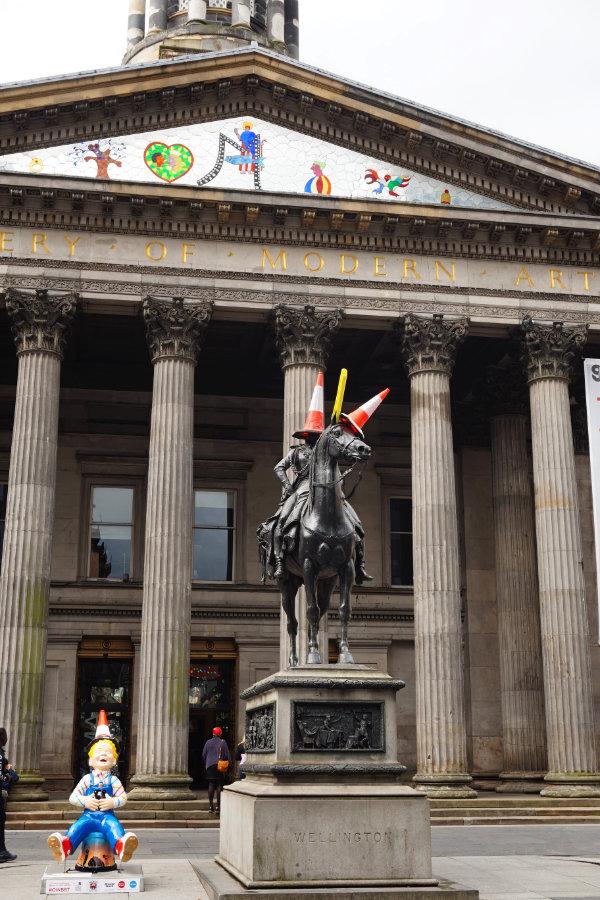 Duke Of Wellington statue, Glasgow, Scotland