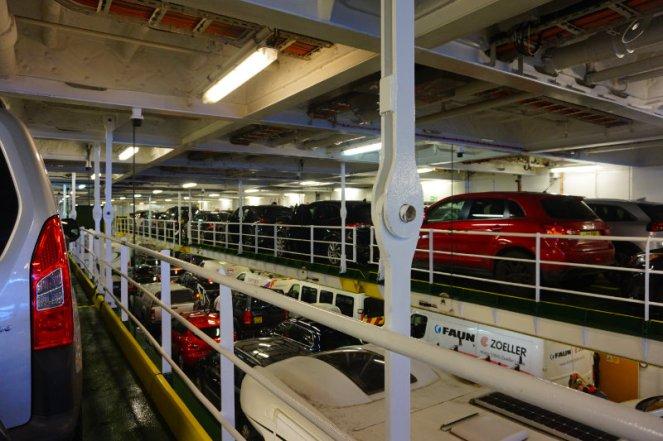 Ferry to Stornoway, Calmac, Scotland