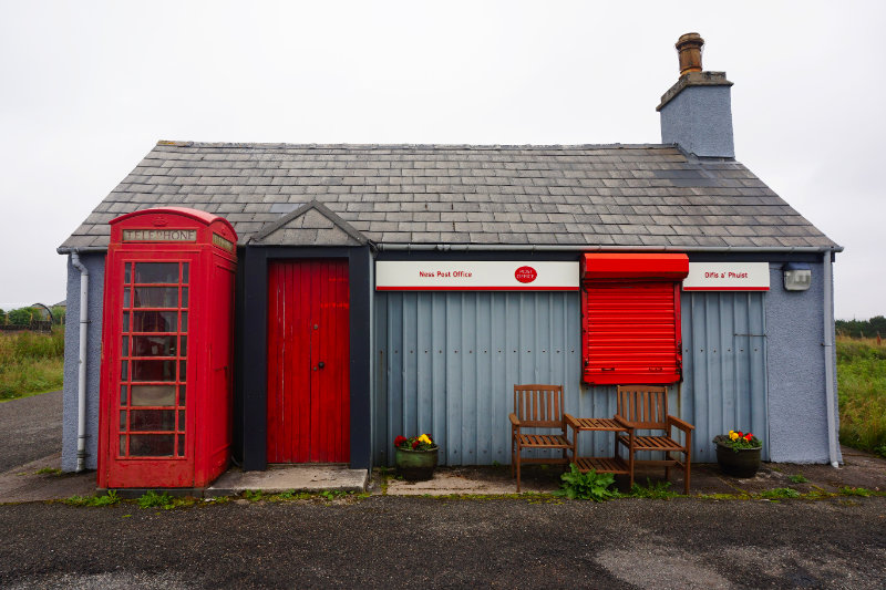 Port Of Ness Post Office, Isle Of Lewis, Scotland
