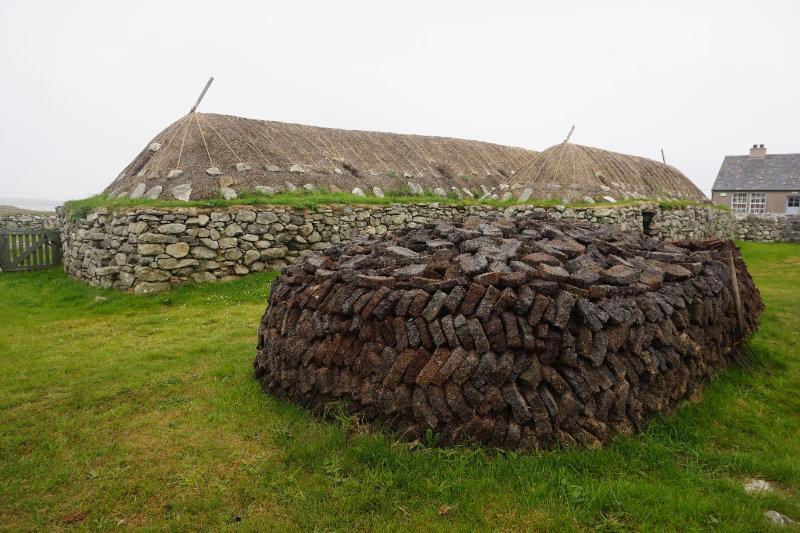 Arnol Blackhouse, Isle Of Lewis, Scotland