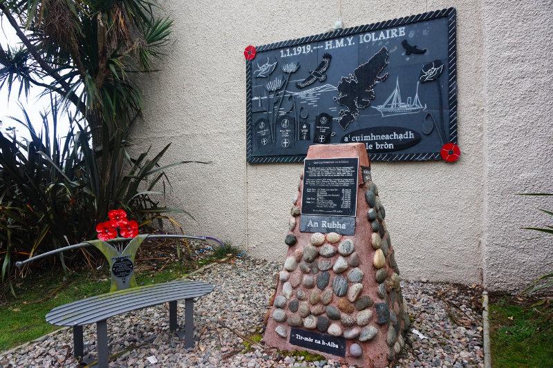 HMY Iolaire memorial, Stornoway, Isle Of Lewis, Scotland