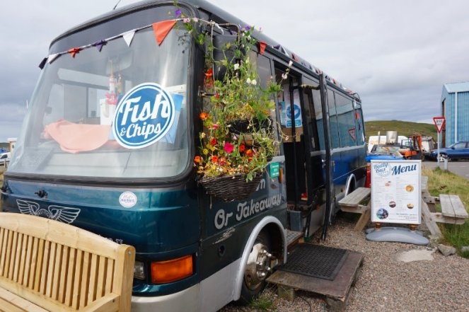 The Butty Bus, Leverburgh, Isle Of Harris, Scotland