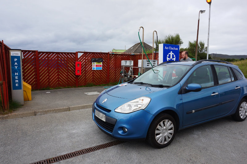 Leverburgh petrol, An Clachan shop, Isle Of Harris, Scotland