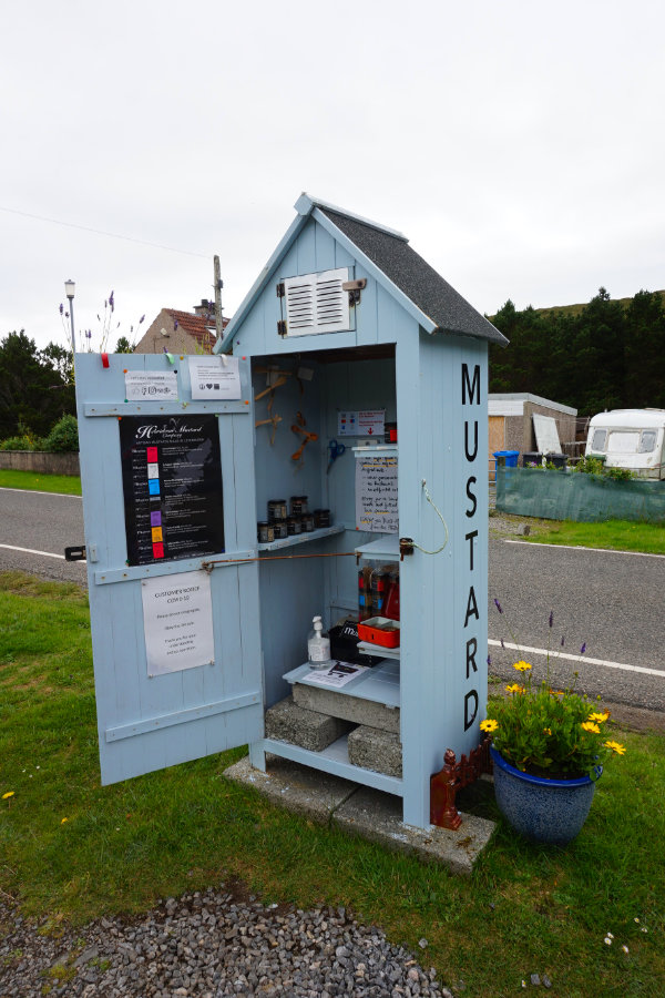 Mustheb honesty box, Isle Of Harris, Scotland