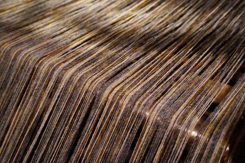 Harris Tweed loom, Scotland