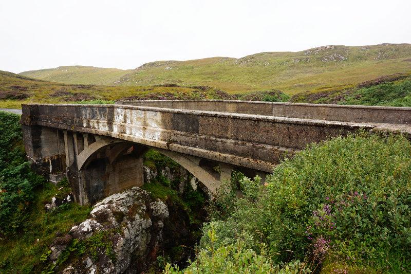 Garry bridge / Bridge To Nowhere, Isle Of Lewis, Scotland