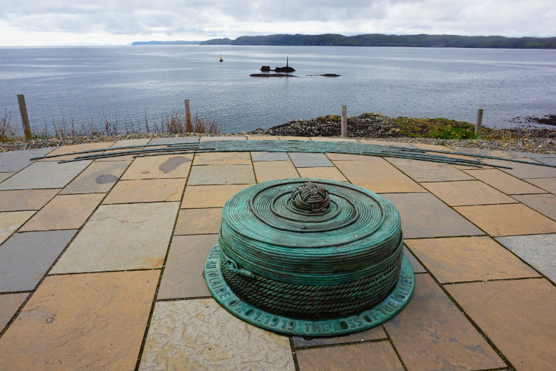 HMY Iolaire memorial, Isle Of Lewis, Scotland